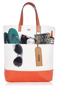 so cute beach bag