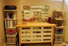 Cheap Craft Room Storage Cabinets Shelves Ideas 33