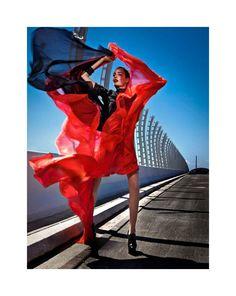 Zuzanna Bijoch by Aldona Karczmarczyk for <em>Elle Poland</em> September 2011