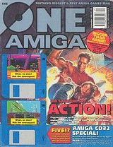 The One Amiga 60 (Sep 1993) front cover