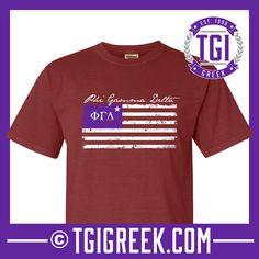 Phi Gamma Delta - TGI Greek - Comfort Colors - Greek T-shirts - #TgiGreek #PhiGammaDelta #Fiji