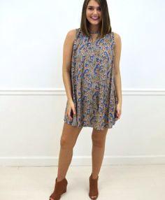 || Taylor Monroe Boutique || Madi Paisley Dress