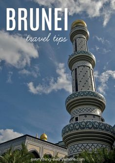 Located in the Indonesian Island Chain, the giant Borneo Island contains land belonging to Malaysia and Indonesia. It also contains the tiny sovereign nation of Brunei. Travel Alone, Asia Travel, Travel Guides, Travel Tips, Brunei Travel, Best Places To Travel, Travel Information, Travel Posters, Southeast Asia