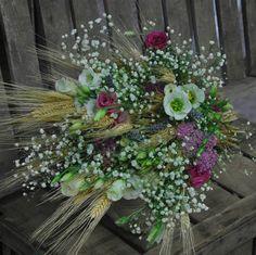 TUNDRA - Marina. Bouquets. ramo de novia. wedding. espiga. trigo. campestre. lisianthus.