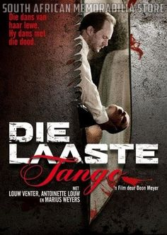 DIE LAASTE TANGO - Marius Weyers - South African Afrikaans DVD *NEW* - South African Memorabilia Store