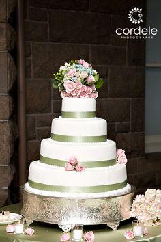 White and Green wedding cake, 4 tier wedding cake, newport RI wedding photos 4 Tier Wedding Cake, Wedding Cake Photos, Wedding Cakes, Andover Massachusetts, Corporate Headshots, Block Island, Green Wedding, Newport, Portrait Photographers