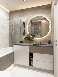 Bathroom Design Luxury, Modern Bathroom Decor, Bathroom Layout, Modern Bathroom Design, Bad Inspiration, Bathroom Inspiration, Home Room Design, Home Interior Design, Interior Modern