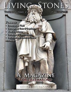 February 2013 Issue of Living Stones Masonic Magazine for Freemasons about Freemasonry