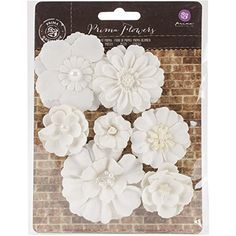 Prima paper flowers white assortment no 329 by layoutsfromtheheart prima marketing chaste mulberry paper flowers fausta prima marketing http mightylinksfo
