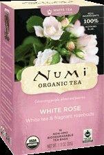 Numi Organic White Tea - White Rose Tea