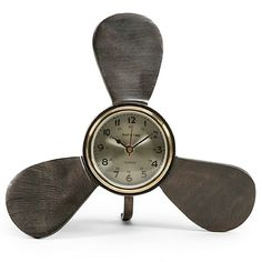 Boat Propeller Clock: http://www.completely-coastal.com/2015/11/coastal-and-nautical-decor-from-house.html