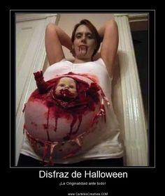Disfraz de Halloween, ¡La Originalidad ante todo! #CartelesCreativos #Desmotivaciones
