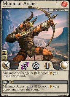 Moonga - Minotaur Archer by *moonga on deviantART
