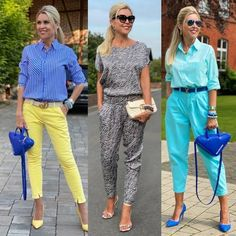 Sales of women's and men's clothing and accessories. More info on the web Parachute Pants, Capri Pants, Street Style, Men's Clothing, Profile, Clothes, Beautiful, Beauty, Woman