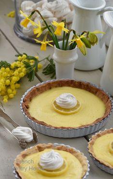 lemon tart and to brighten up the winter. Lemon pie. Homemade simple lemon dessert
