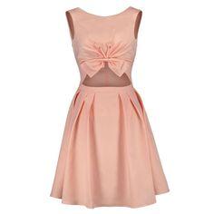 f8816e02f1 Salmon Cotton Skater Dress – Ms Consumer  fashion  style  ootd  msconsumer   . ProFound Attire
