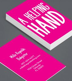 Nannybabysitting custom business card keep calm and hire a a helping hand a babysitter with a business card offers a level of professionalism designed fbccfo Image collections