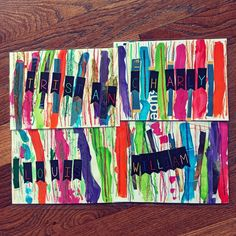Ms Gs, Art Supplies, Blog, Paper Strips, Papercutting, Tape Painting, Clothes Racks, Blogging