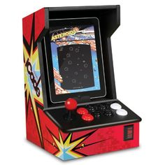ION iCade Arcade Bluetooth Cabinet for iPad. Authentic, full-sized controls for a genuine arcade experience. Classic wooden cabinet perfectly sized for iPad. High-quality iPad-cradle specifically designed for a safe, secure fit