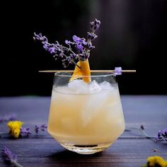 Love this from @thetipsymuse Utilizing the last bit of lavender in my backyard and I made this from @deathandconyc. . . . Dangerous Liaisons . 1.5 oz Dalwhinnie whisky Bunches of lavender 0.75 oz Dolin Blanc vermouth 0.75 oz grapefruit juice 0.5 oz lemon
