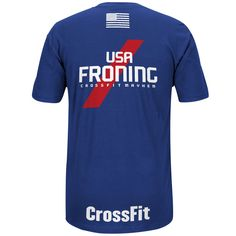 Get your fan gear for the 2015 Reebok CrossFit Invitational held in Madrid, Spain and show your support for USA's Team Captain, Rich Froning.