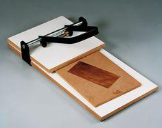 Ideal para prensado manual de planchas de linoleo y técnicas se xylografia