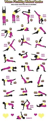 Pilates Flexibility Workout Routine -- #Pilates $yoga #fitness #fitspo #inspiration #workout #fit #fitnessgirls #Nutritionable #healthy #wellness #health #medicine #therapy #yoga #gym #lifestyle #clean --   http://www.facebook.com/nutritionable  http:/www.instagram.com/nutritionable  http://wwww.twitter.com/nutritionable