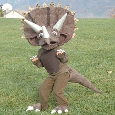 Trick or Treat Triceratops photo & Kylan and Cadenu0027s Completed Halloween Costumes | Halloween costumes ...
