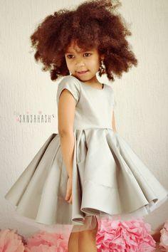 Lil Luxe Flower girl dress!!! by Sansahash on Etsy