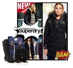 """The Cover Up – Jackets by Superdry: Contest Entry"" by bonnie-wright-1 ❤ liked on Polyvore featuring Superdry and WALL"