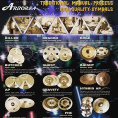 @arborea_cymbals_usa .. It's a banquet of bronze!  #cymbals #handmade #arboreausa #drums #drummer #drumlife #cymbal #hihats #drumkit #drumming #australia #sydneydrums