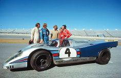Martini-Rossi Racing Team at Daytona 1971