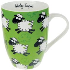 Amazon.com   Dublin Gift Company The Black Sheep Ceramic Mug: Coffee Cups & Mugs