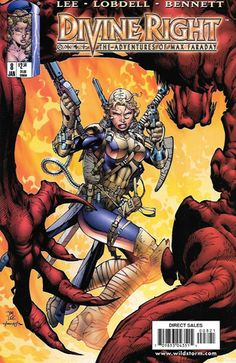 Divine Right : The Adventures of Max Faraday # 8 Image Comics / Wildstorm