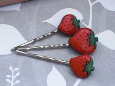 strawberry jewelry | Bead Snob: From Etsy With Love: Jewelry Brings Out the Romance