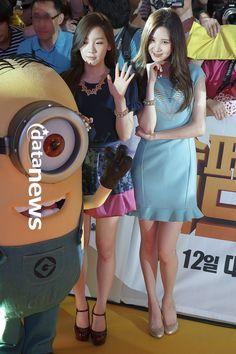 #SNSD #SJJD #SoNyeoShiDae #ShoujoJidai #GG #GirlsGeneration #Soshi #KimTaeyeon #Taeyeon #Taeng #Taengoo #Kidleader #Seohyun #SeoJooHyun #Seobaby #Maknae  #Event #Movie #DespicableMe2 #Minion