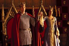King Arthur and Queen Guinevere!! Finally!