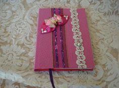 Notitieboekje roze # paper craft