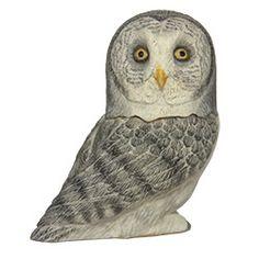 Pot Belly Miniature Box - Owl - Great Gray Owl [PBZOW14] - $15.00 ...