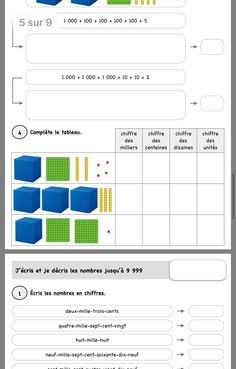 Cycle 3, Math 5, Color Sheets, Fractions, Montessori, Back To School, Farm Gate, Children, Projects