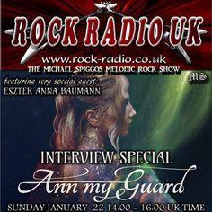 """Check out """"The Michael Spiggos Melodic Rock Show feat. Eszter Anna Baumann (Ann My Guard) 22.01.2017"""" by Michael Spiggos on Mixcloud"""