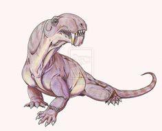 Ivantosaurus ensifer by ~DiBgd