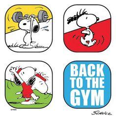 Gym time. 重回健身房囉