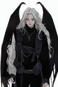 Dark Anime Girl, Cool Anime Girl, Anime Art Girl, Fantasy Character Design, Character Inspiration, Character Art, Chica Anime Manga, Manga Girl, Pretty Art