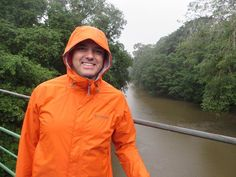 Chris C. visiting  the rain forests of Costa Rica.