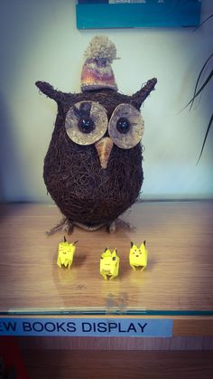 Ollie the owl has new friends who joined him over the weekend.