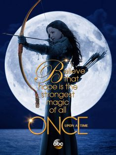 Once Upon a Time... my current tv series addiction on Netflix.