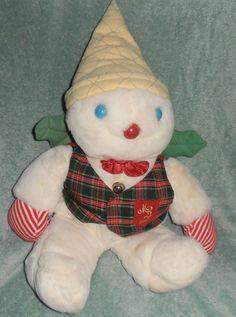 VINTAGE RARE 1987 MR. BINGLE CHRISTMAS DOLL SNOWMAN  MAISON BLANCHE NEW ORLEANS
