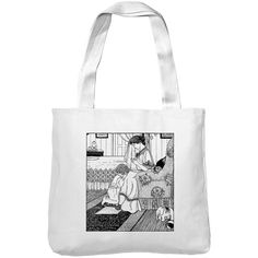 Mintage Praying Mother and Child Museum Tote Bag