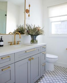 31 Interesting Black And White Bathroom Design Ideas. If you are looking for Black And White Bathroom Design Ideas, You come to the right place. Below are the Black And White Bathroom Design Ideas. Guest Bathrooms, Bathroom Renos, Bathroom Renovations, Bathroom Interior, Guest Bathroom Remodel, Budget Bathroom, Bathroom Makeovers, Dream Bathrooms, Spa Master Bathroom